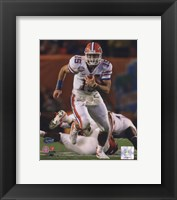 Framed Tim Tebow University of Florida Gators 2009 Action