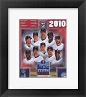 Framed 2010 Minnesota Twins Team Composite