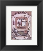 Framed Vintage Bathtub ll