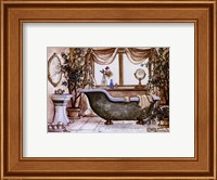 Framed Vintage Bathtub lll