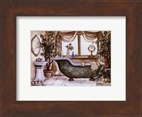 Framed Vintage Bathtub lll