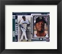 Framed Ken Griffey Jr. 2010 Studio Plus