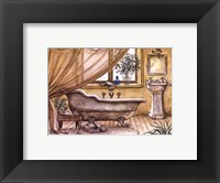 Vintage Bathtub lV Framed Print