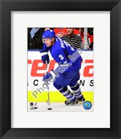 Framed Dion Phaneuf 2009-10 Action In Play