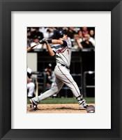 Framed Joe Mauer 2010 Batting Action