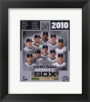 Framed 2010 Chicago White Sox Team Composite