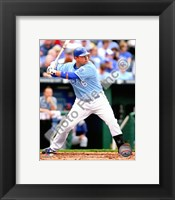 Framed Billy Butler 2010 Action