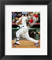 Framed Carlos Lee 2010 Action