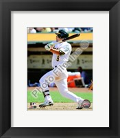 Framed Kurt Suzuki 2010 Action
