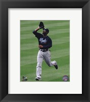 Framed Jason Heyward 2010 Action