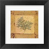 Framed Lady Fern