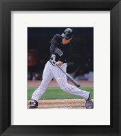 Framed Chris Coghlan 2010 Action