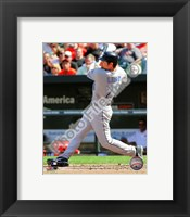 Framed Adam Lind 2010 Action