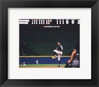 Framed Ubaldo Jimenez 2010 baseball