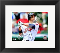 Framed Grady Sizemore 2010 Action