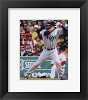 Framed Carl Crawford 2010 Action