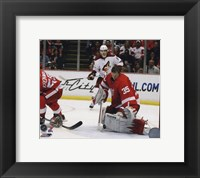 Framed Jimmy Howard 2009-10 Action