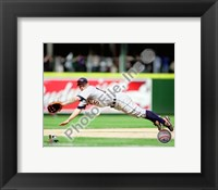 Framed Brandon Inge 2010 Action
