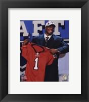 Framed Gerald McCoy 2010 # 3 Draft Pick