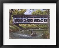 Framed Ducks on the River