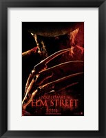 Framed Nightmare on Elm Street, c.2010 - style B