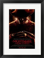 Framed Nightmare on Elm Street, c.2010 - style D