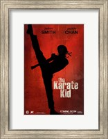 Framed Karate Kid, c.2010 - style A