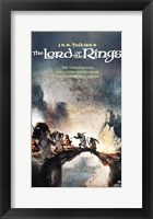 Framed Lord of the Rings, animated - style F