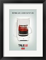 Framed True Blood - Cup of Joe - style S