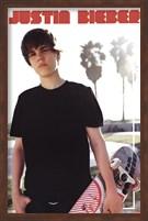 Framed Justin Bieber - Skateboard