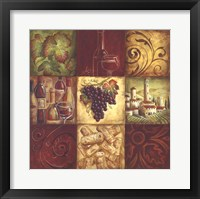 Framed Tuscan Wine II