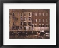 Gondolas II Framed Print