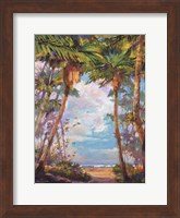 Framed Path To Paradise I - petite