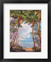 Path To Paradise I - petite Framed Print