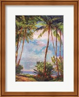 Framed Path To Paradise II - petite