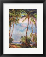 Path To Paradise II - petite Framed Print