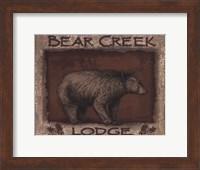 Framed Bear Creek- mini