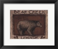 Framed Bear Creek- mini