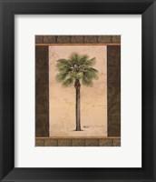 East Indies Palm I - mini Framed Print