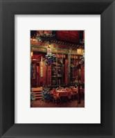 Framed Le Baron Rouge