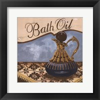 Bath Accessories II Framed Print