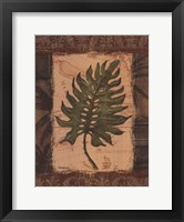 Tropical Leaf II Framed Print