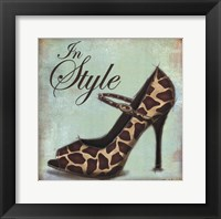 Exotic Shoe II Framed Print