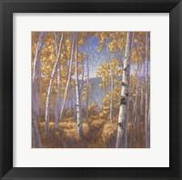 Framed Fall Aspen II - mini