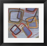 Framed River Run II - mini