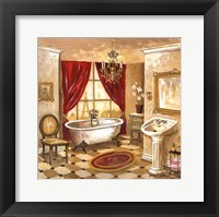 Framed Persian Bath