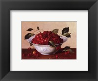 Framed Still Life With Cherries