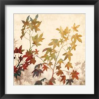 Framed Turning Leaves II