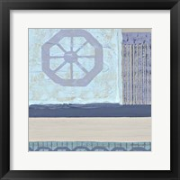 Framed Decorative Asian Abstract I