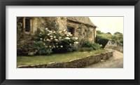 Framed English Cottage I